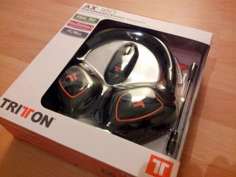 test micro casque gamer tritton ax180. Black Bedroom Furniture Sets. Home Design Ideas