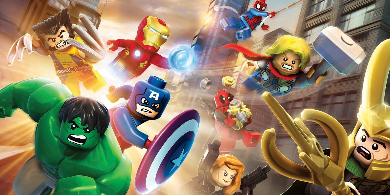 Test lego marvel super heroes - Logo super heros ...