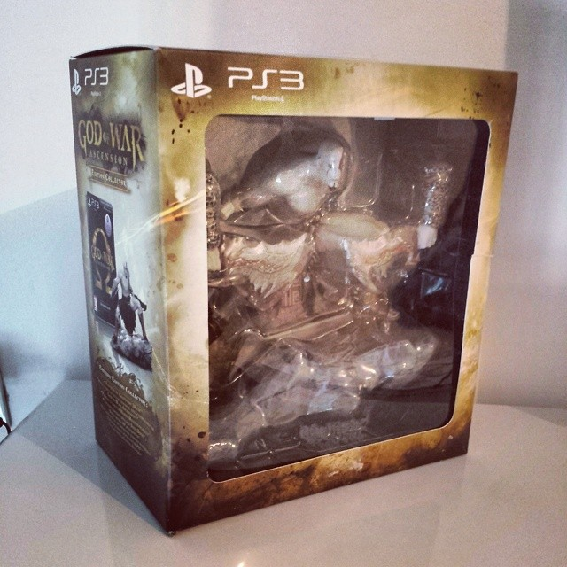 God Of War Ascension Collector :) #gow #gowa #playstation #ps3
