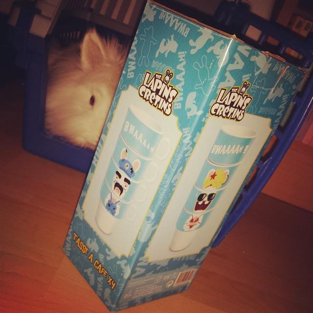 Encore des tasses Lapins Crétins ! #ravingrabbids #lapinscretins #ubisoft