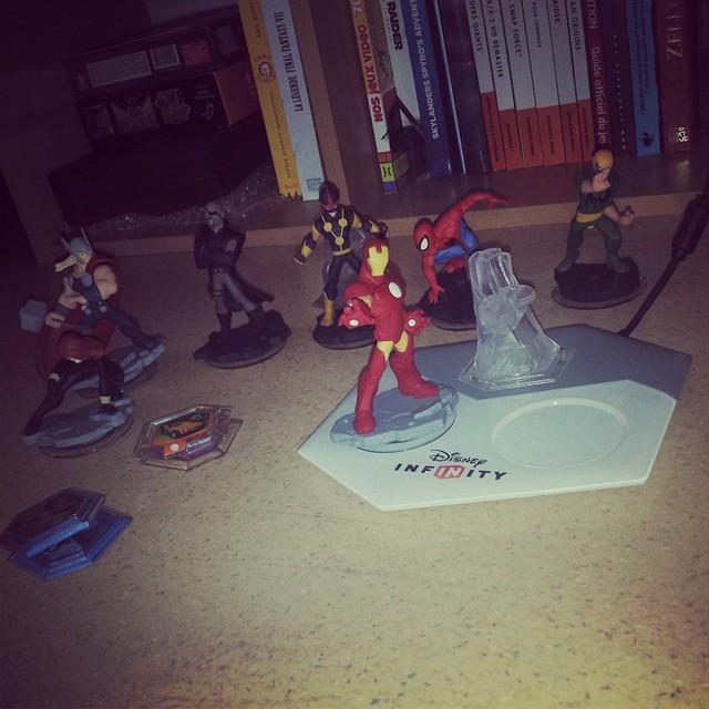 Comme une gamine, je m'éclate avec Disney Infinity 2 Marvel :) #disney #disneyinfinity #marvel