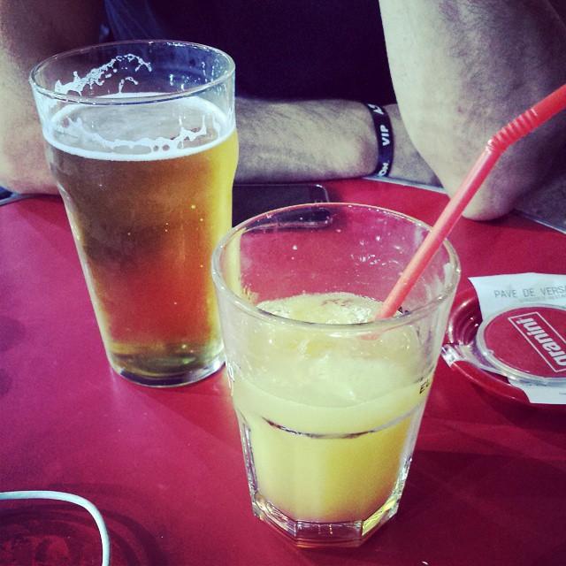 Petit verre avec @_kogarc :)