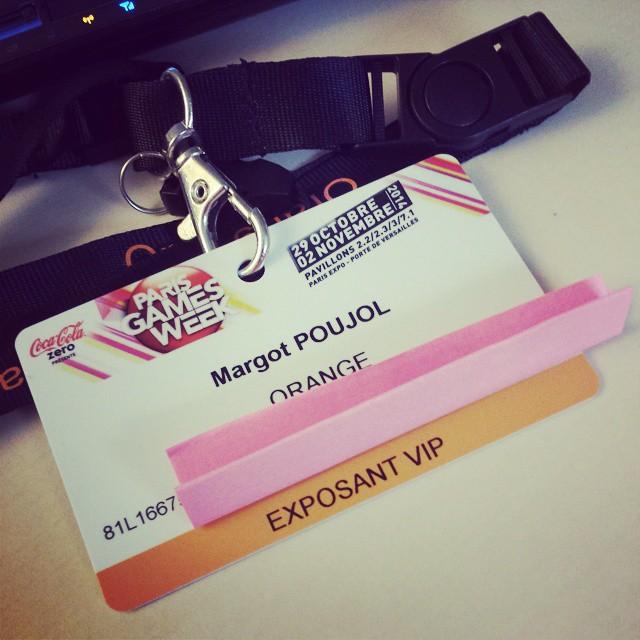Pompelup exposante VIP pour Orange Jeux #pgw #orangepgw
