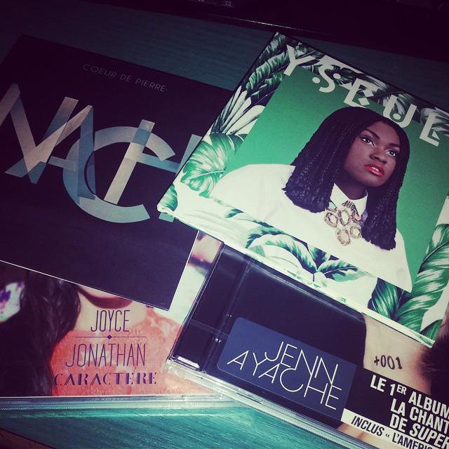 Je redécouvre les CD avec Yseult - Nach - Jenn Ayache - Joyce Jonathan. Cc @gagabouille c'est pour toi :)