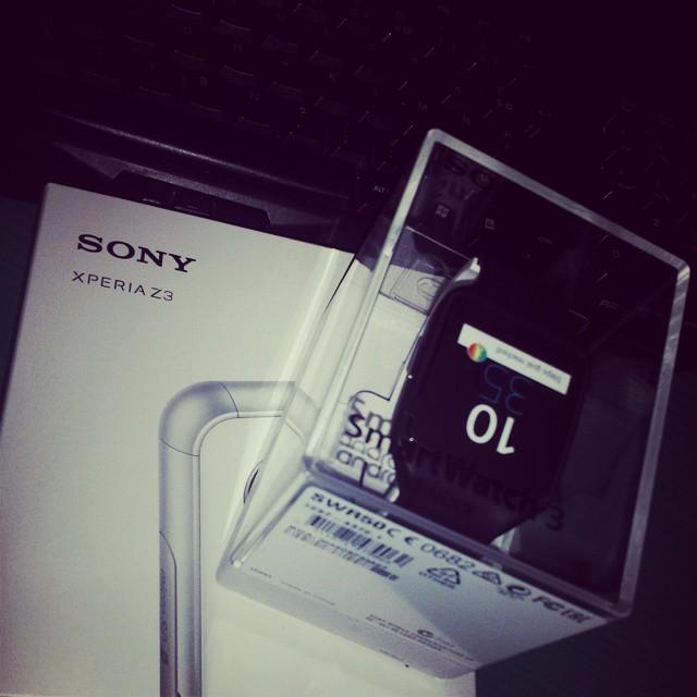 Adieu Samsung. Bonjour Sony Xperia :) #sonyxperia #z3 #xperiaz3 #teamz3