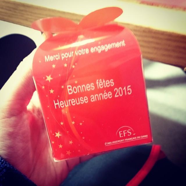 Don du sang fait ;) #EFS