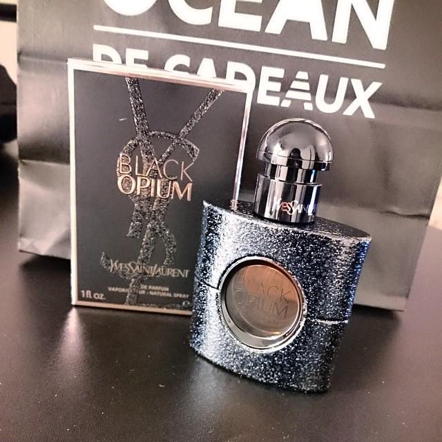 Nouveau parfum ! Black Opium de Yves Saint Laurent <3 #ysl #blackopium