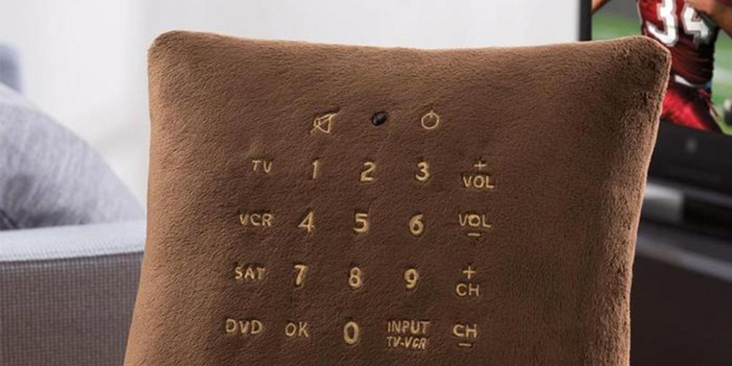 coussin telecommande