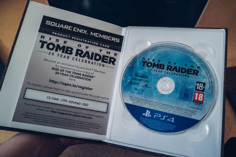 UNBOXING] Rise of the Tomb Raider : 20ème anniversaire Edition Collector
