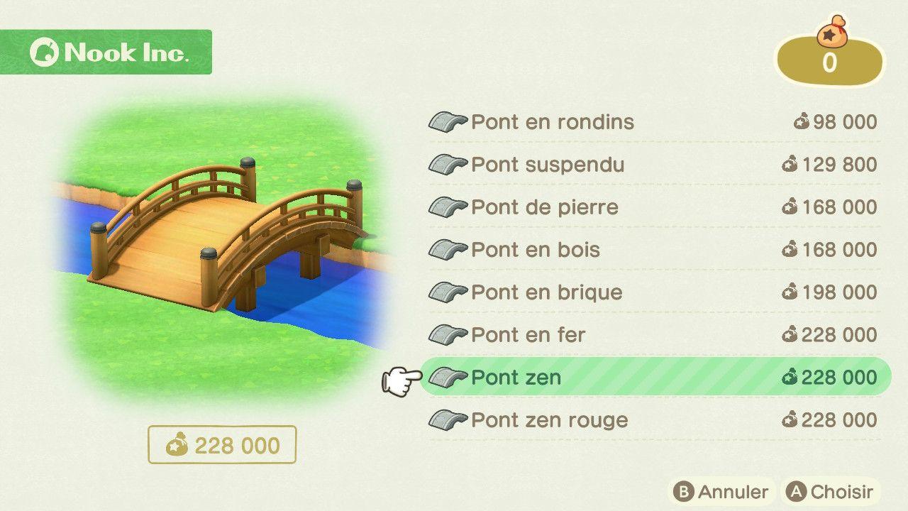 Comment Fabriquer Un Petit Pont En Bois guide] obtenir les ponts dans animal crossing new horizons