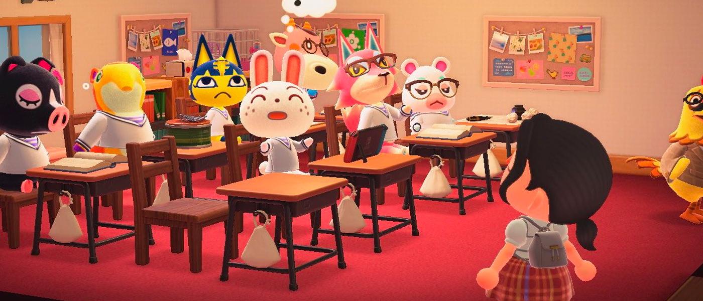 Liste du mobilier école dans Animal Crossing New Horizons